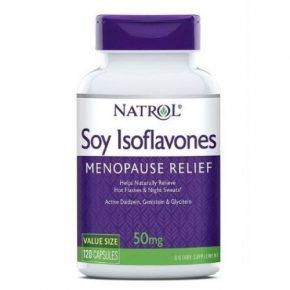 Cải thiện các vấn đề về tiền mãn kinh với viên uống Natrol Soy Isoflavones
