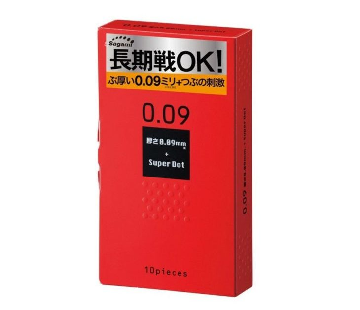 Bao cao su Sagami Super Dot 009