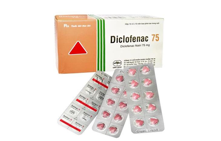 Thuốc đặc trị viêm khớp thái dương hàm Diclofenac