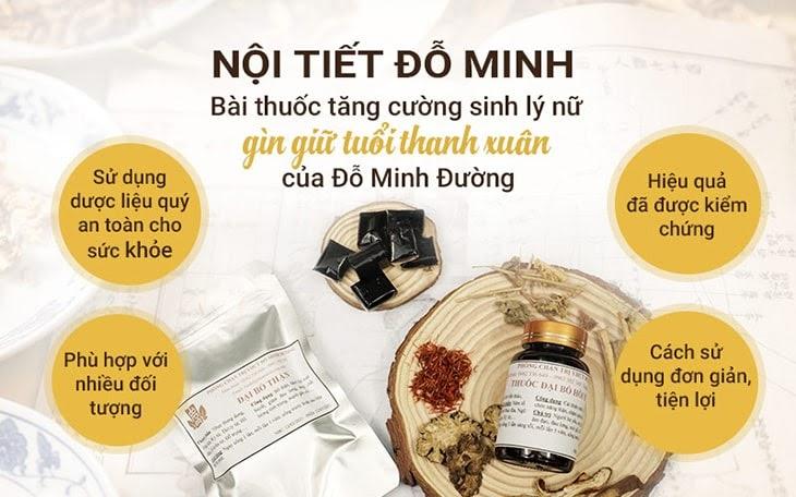 Thuốc Đông y tăng cường nội tiết tố Đỗ Minh được nhiều chị em ưa chuộng