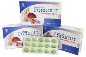 Thuốc Forgout là một trong số những sản phẩm trị bệnh gout được nhiều người tin tưởng lựa chọn sử dụng