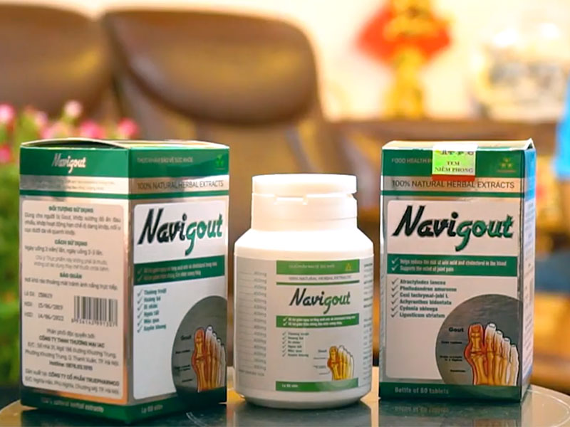 Thuốc Navigout là một trong số những sản phẩm trị bệnh gout phổ biến trên thị trường hiện nay