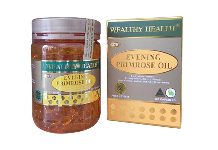 Hình ảnh thuốc Wealthy Health Evening Primrose Oil