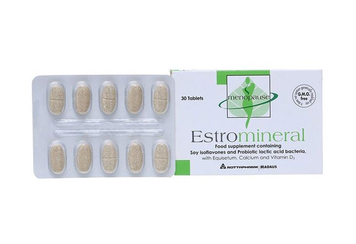Hình ảnh thuốc tăng nội tiết tố nữ của Úc Estromineral