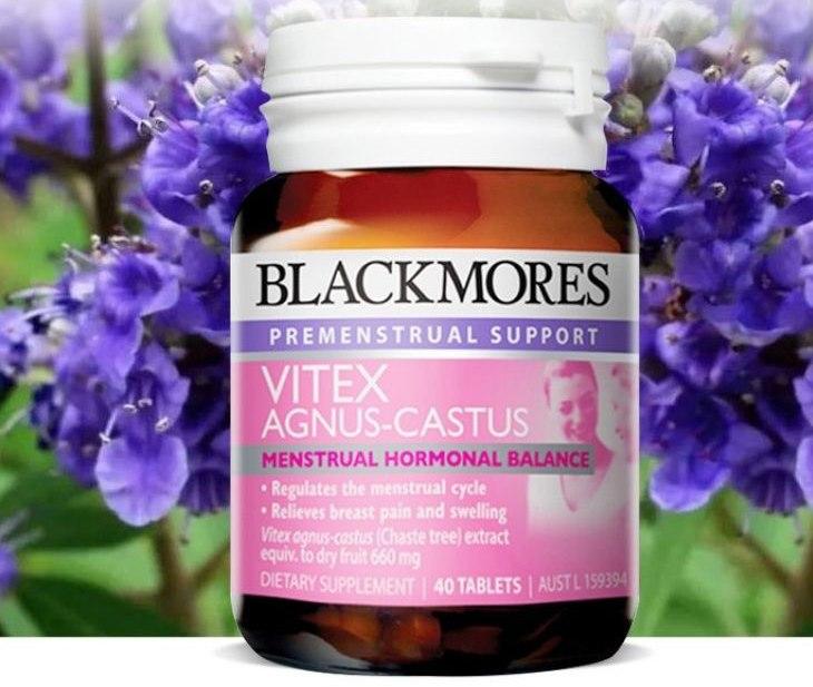 Viên uống cân bằng nội tiết tố nữ của Úc Blackmores Vitex Agnus Castus