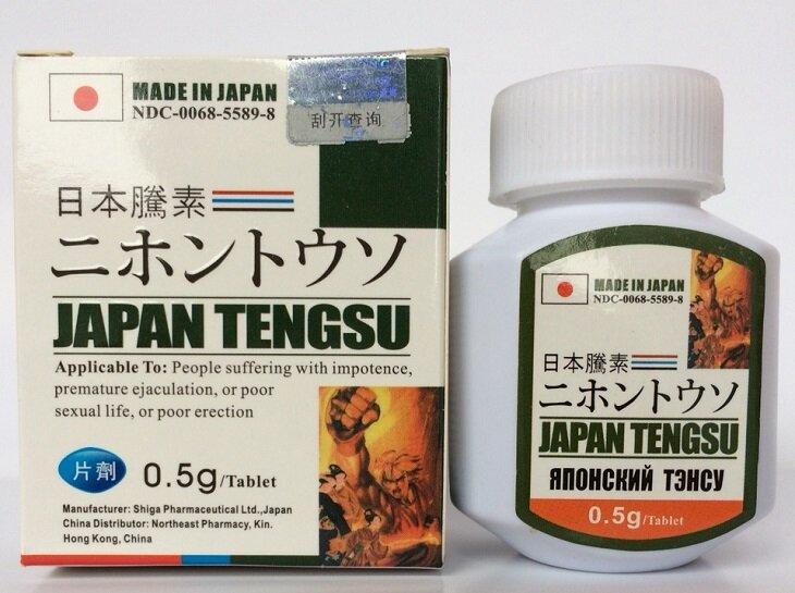 Thuốc trị liệt dương Tengsu được sản xuất trên dây chuyền công nghệ hiện đại của Nhật Bản.