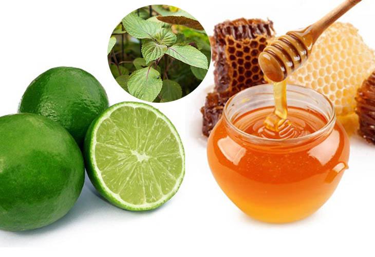 Chanh và mật ong là các nguyên liệu có tác dụng trị nám rất tốt