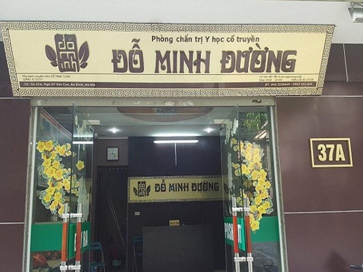 Nhà thuốc Đỗ Minh Đường là địa chỉ uy tín, đáng tin cậy trong việc khám chữa bệnh vảy nến đồng tiền
