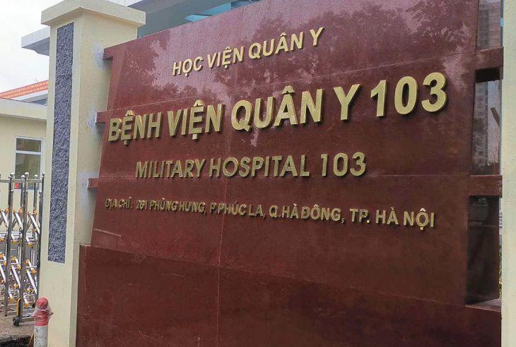 Bệnh viện Quân Y 103 có khám chữa bệnh viêm khớp thái dương hàm