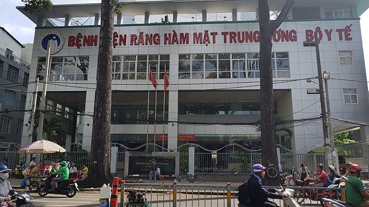 Khu khám chữa bệnh răng hàm mặt viện Răng Hàm Mặt Trung Ương Hồ Chí Minh