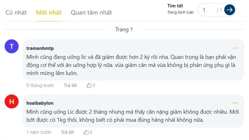 Review từ Webtretho