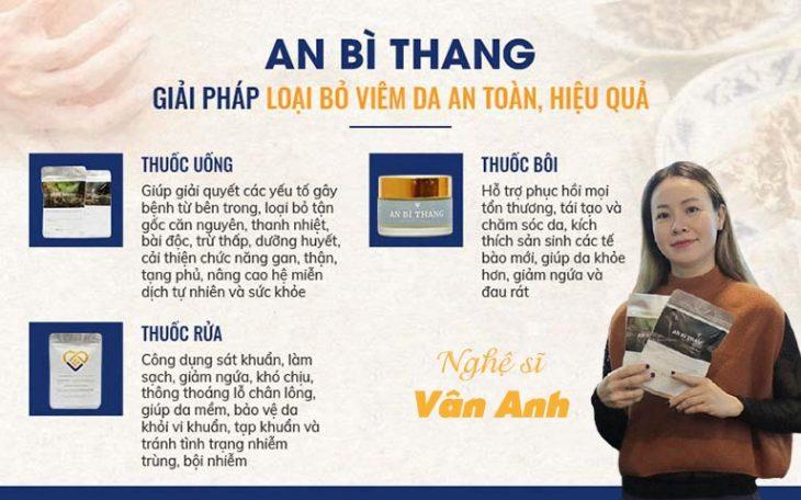 An Bì Thang được bào chế dạng sử dụng trực tiếp không cần đun sắc