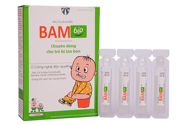 Cải thiện tình trạng táo bón ở trẻ nhanh chóng và hiệu quả bằng bào tử lợi khuẩn Bambio