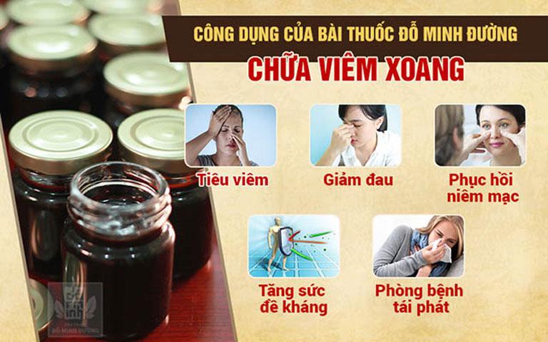 Hiệu quả bài thuốc viêm xoang dòng họ Đỗ Minh