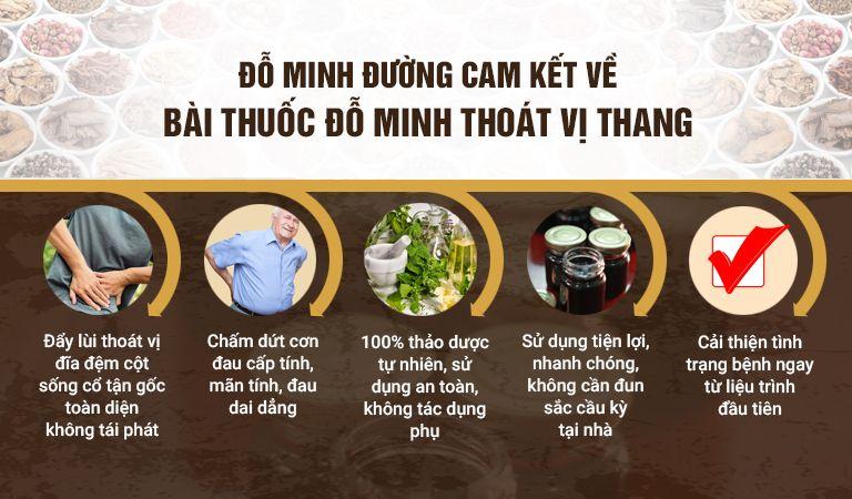 Cam kết của nhà thuốc Đỗ Minh Đường