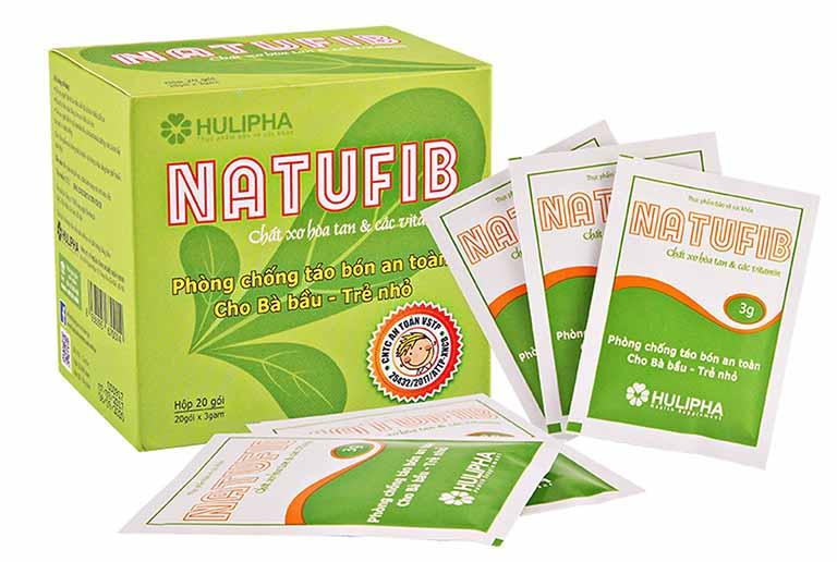 Natufib là sản phẩm hỗ trợ đẩy lùi tình trạng táo bón ở trẻ em được nhiều phụ huynh tin dùng