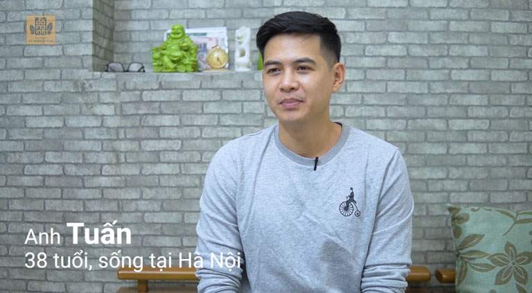 Anh Tuấn hài lòng với kết quả điều trị bài thuốc Sinh lý nam Đỗ Minh