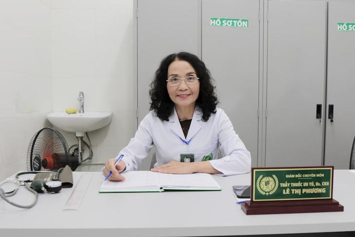 Thầy thuốc Ưu tú, Bác sĩ CKII Lê Thị Phương