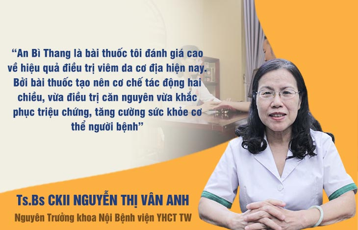 Bác sĩ Vân Anh đánh giá cao bài thuốc An Bì Thang