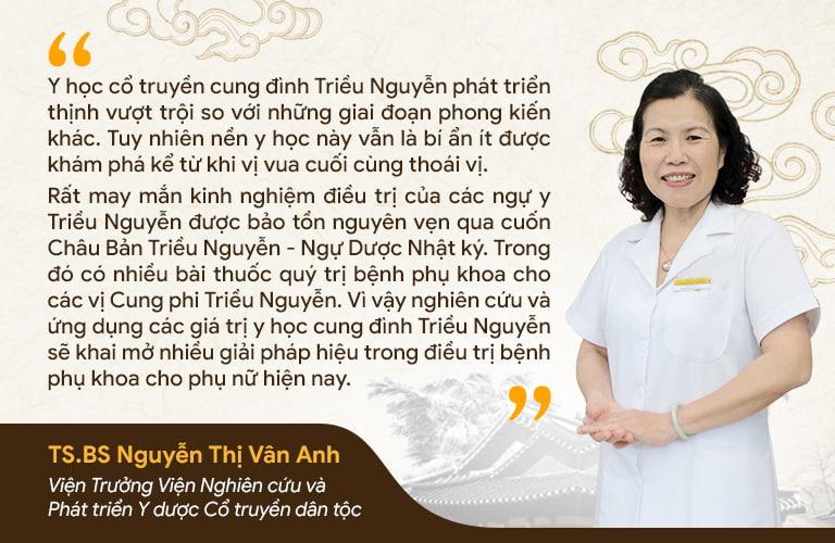 Chuyên gia đánh giá Phụ Khang Tán là bài thuốc hiếm hoi kế thừa và phát huy những tinh hoa của y học triều Nguyễn