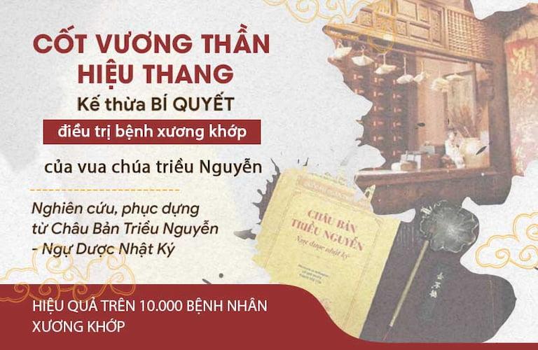 Bài thuốc Cốt Vương thần hiệu thang kế thừa 150 năm YHCT triều Nguyễn
