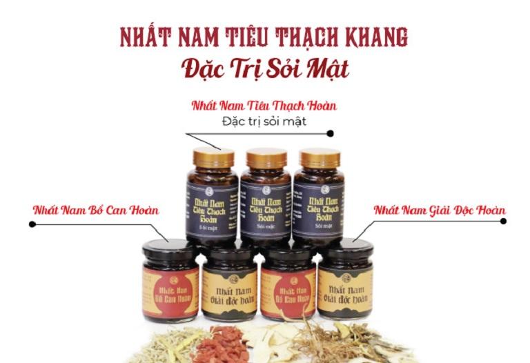 Ba bài thuốc nhỏ chữa sỏi mật Nhất Nam Tiêu Thạch Khang