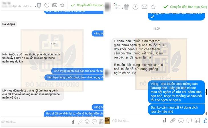 Phản hồi của người bệnh về bài thuốc Phụ Khang Đỗ Minh