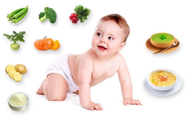 Xây dựng chế độ dinh dưỡng cân bằng và đủ chất là việc làm cần thiết để kích thích bé mọc răng