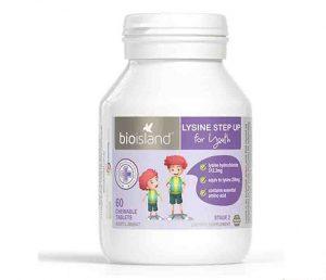 Bio island lysine starter có chứa thành phần lysine có hàm lượng cao, hỗ trợ tăng chiều cao cho trẻ trong giai đoạn phát triển
