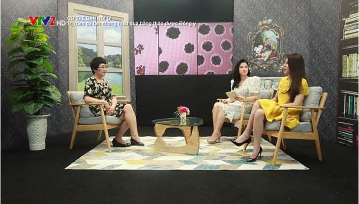 Bộ sản phẩm Vương Phi được giới thiệu trên sóng truyền hình VTV2