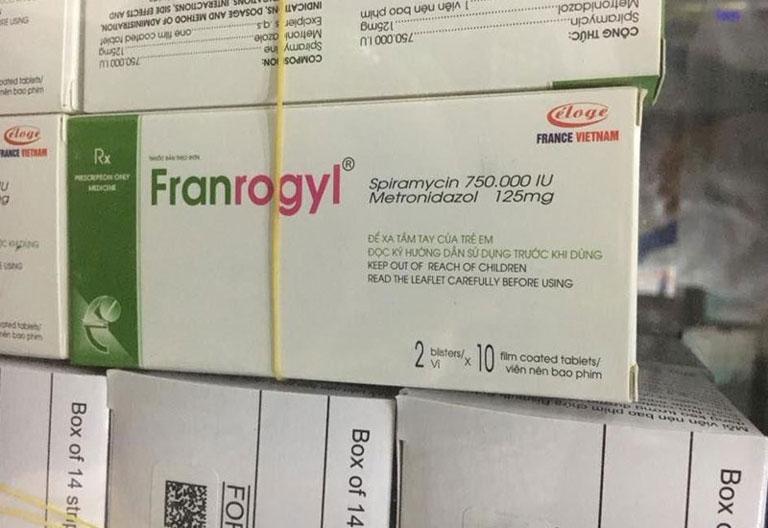 Hình ảnh thuốc Franrogyl