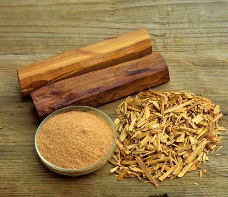 Hình ảnh gỗ đàn hương làm thuốc