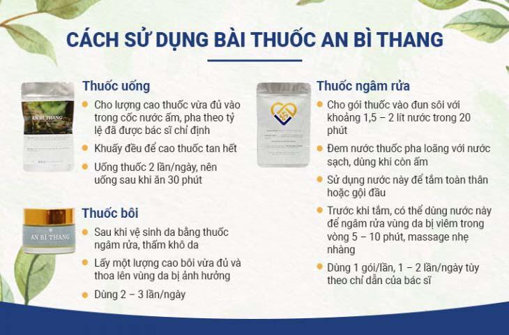 An Bì Thang với dạng bào chế tiện lợi, cách sử dụng dễ dàng