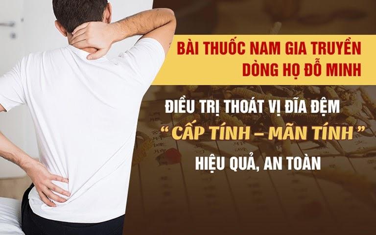 Đỗ Minh Thoát Vị Thang