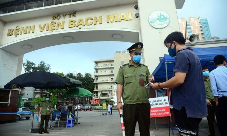 Bệnh viện Bạch Mai nổi tiếng với đội ngũ y bác sĩ giỏi và trang thiết bị y tế hiện đại