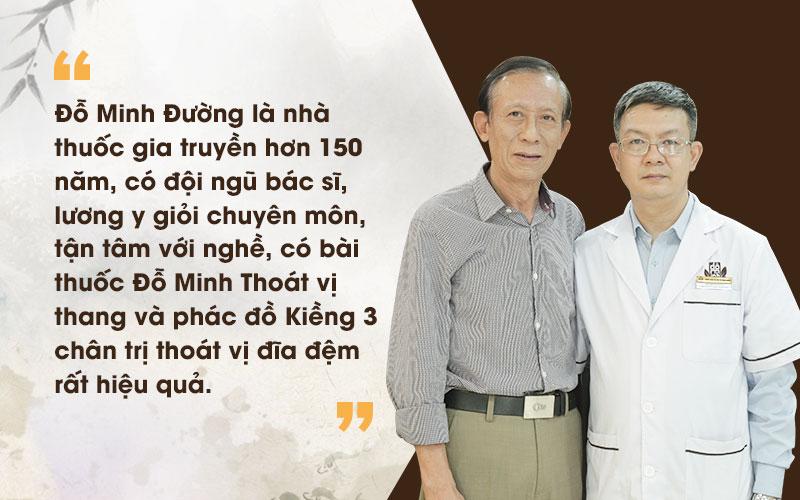 Nghệ sĩ Văn Báu khỏi thoát vị đĩa đệm nhờ Đỗ Minh Đường
