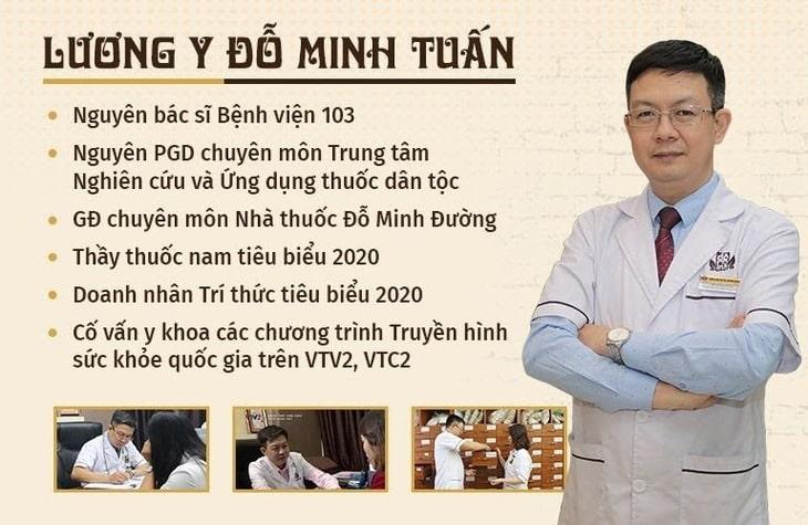 Cố vấn y khoa VTV2 Đỗ Minh Tuấn - Người trực tiếp kế thừa và tối ưu bài thuốc Đỗ Minh Bài Thạch Khang