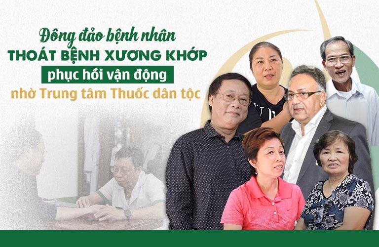 NSƯT Phú Thăng tin cùng hàng ngàn bệnh nhân tin dùng