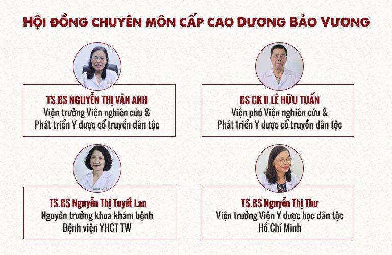 """Hội đồng nghiên cứu cấp cao Dương Bảo Vương hội tụ những """"tinh anh"""" của nền YHCT Việt Nam"""