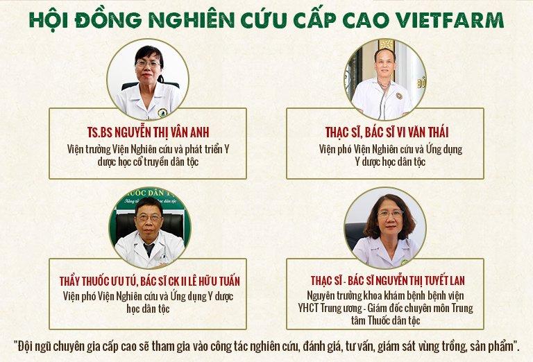 Hội đồng chuyên môn của Vietfarm