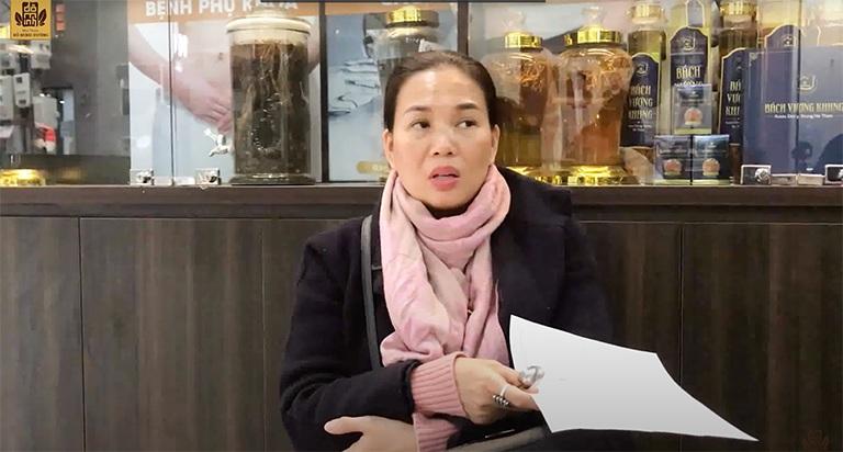Chị Thùy Hương chia sẻ về tình trạng bệnh của con trai mình