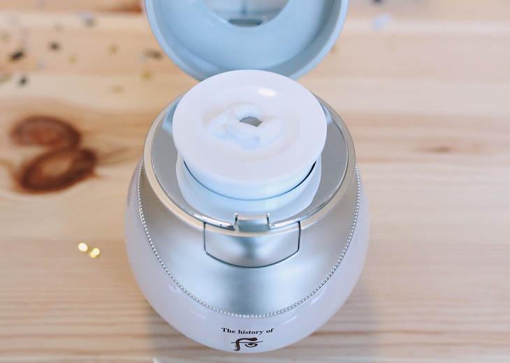 Whoo Whitening và Moisture Cream là kem trị nám chân sâu Hàn Quốc an toàn với làn da