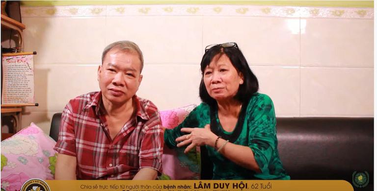 Bệnh nhân Lâm Duy Hội - TP.HCM và em gái