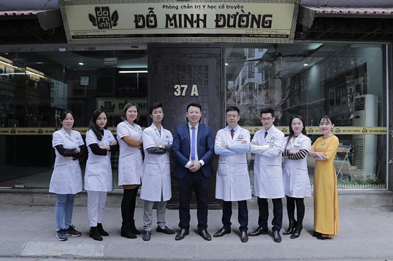 Đội ngũ lương y, bác sĩ tại nhà thuốc Đỗ Minh Đường cơ sở miền Bắc