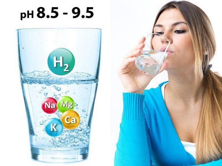 Nước uống tốt cho sức khỏe là nước có tính kiềm?