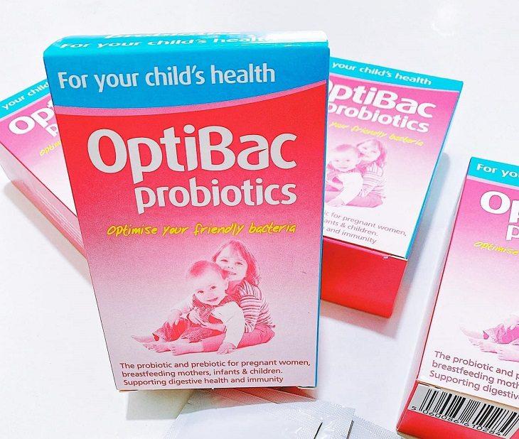 Optibac hồng là sản phẩm men vi sinh đến từ thương hiệu Optibac