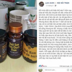 Thực hư hiệu quả của Nhất Nam Tiêu Thạch Khang qua chia sẻ của người bệnh