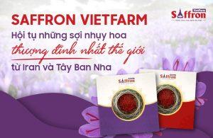 Saffron Vietfarm có tốt không? 5 lý do nên lựa chọn Saffron Vietfarm dưỡng nhan nâng cao sức khỏe