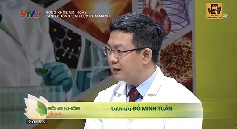 Lương y Đỗ Minh Tuấn - Cố vấn trên chương trình Sống khỏe mỗi ngày - VTV2 cung cấp nhiều thông tin hữu ích