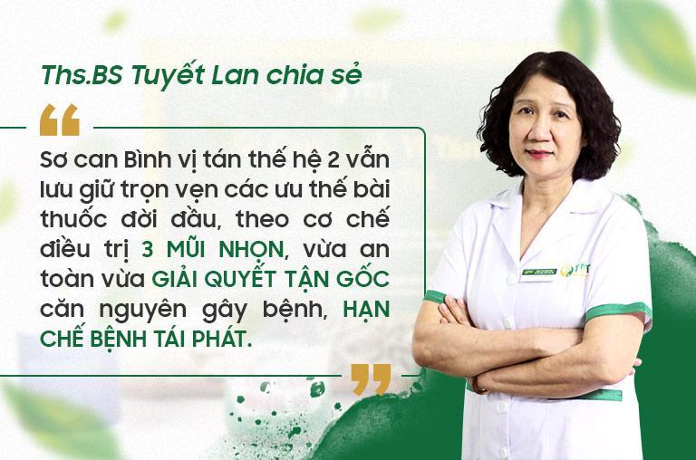 Sơ can Bình vị tán thế hệ 2 hứa hẹn sẽ là cách chữa toàn diện hơn cho bệnh nhân xuất huyết bao tử
